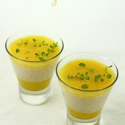 budinca de tapioca cu lapte de cocos, mango si lime-1