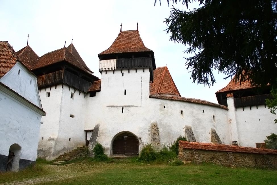 Biserica fortificata din Viscri, patrimoniul international Unesco
