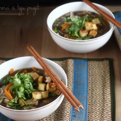 supa cu ciuperci si tofu prajit-1