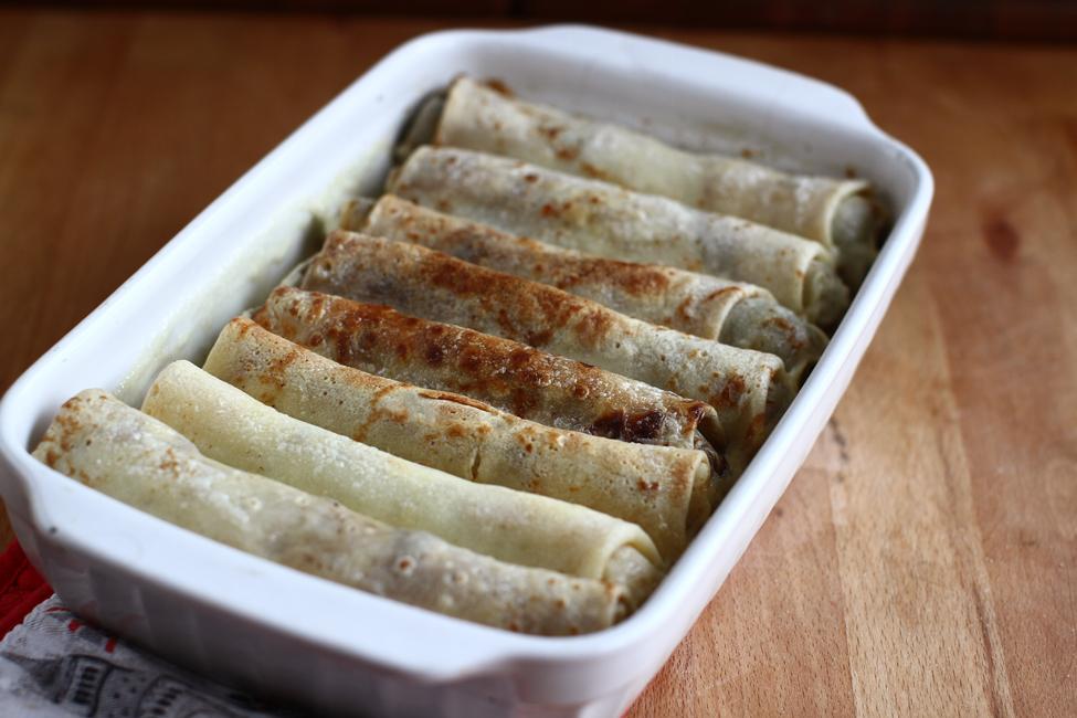 clatite-aperitiv cu carne la cuptor retetecalamamaro