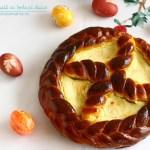Pască tradițională cu brânză dulce