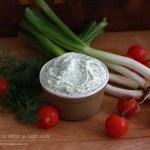 crema de branza cu marar si ceapa verde 1