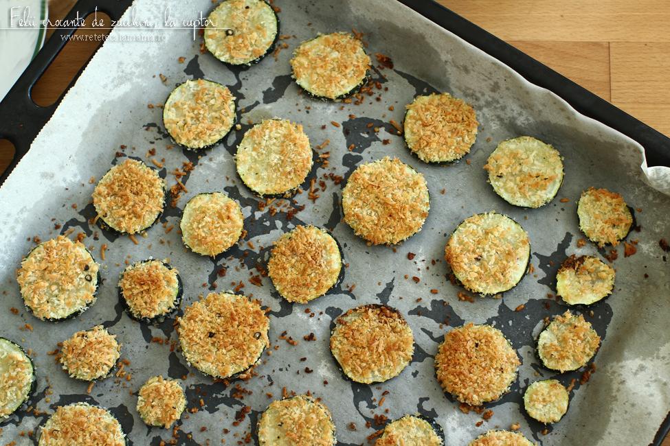 dovlecei-zucchini crocanti la cuptor retetecalamamaro