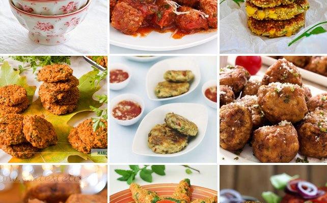 Cele mai bune 20 retete de chiftele vegetariene de pe net