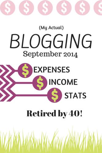 actual blogging income
