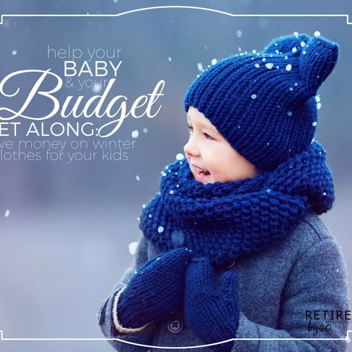 How To Save On Winter Clothes For Kids