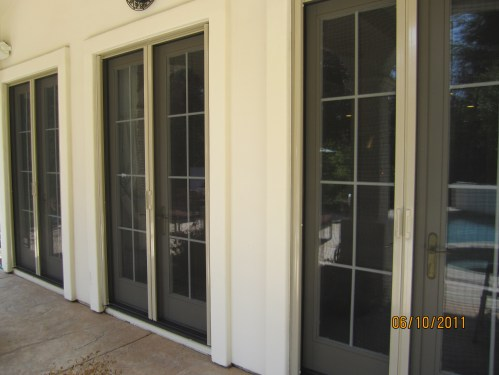 Medium Of Screens For French Doors