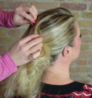 Anja 50er Frisur Tutorial 5