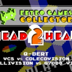 Head 2 Head: Q-Bert – 2600 vs ColecoVision vs Intellivision vs G7000