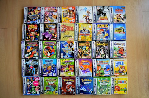 Game Boy Advance games 1