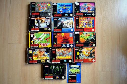SNES games 1