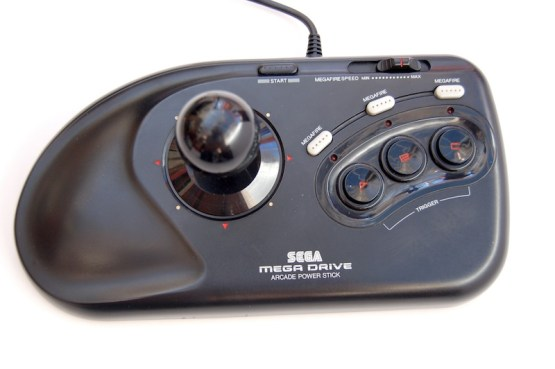 Top view of the Arcade Power Stick.