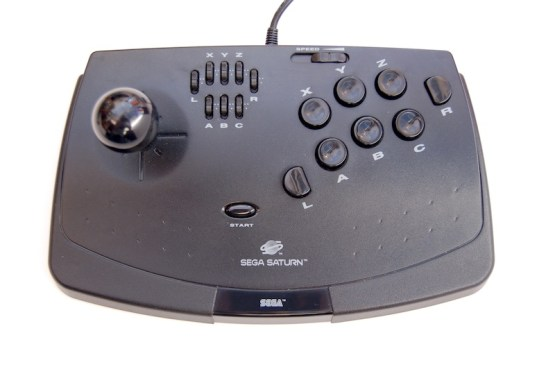A great button layout makes the Virtua Stick a joy to use.
