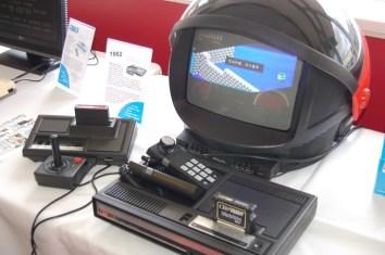 ColecoVision playing Zaxxon