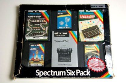 The later Spectrum Six Pack given away with the ZX Spectrum+