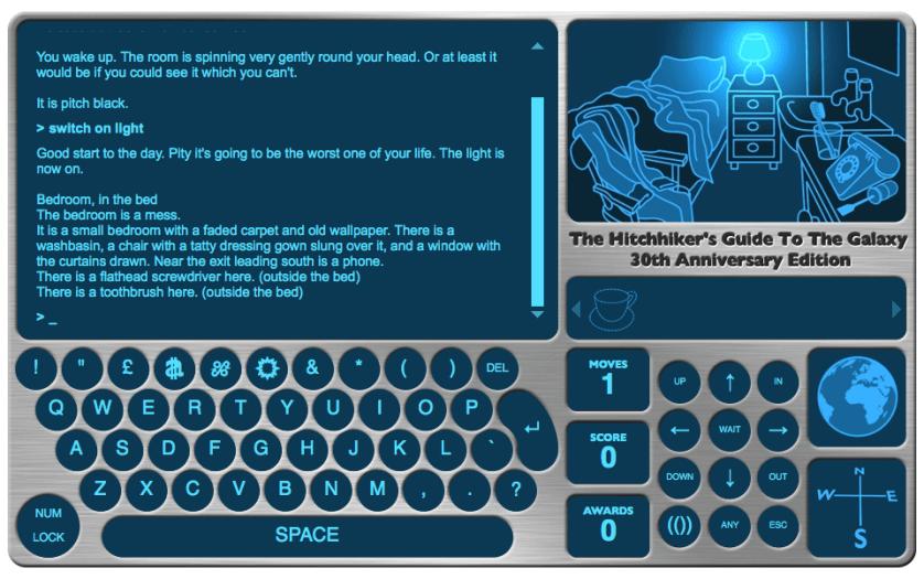online text adventure