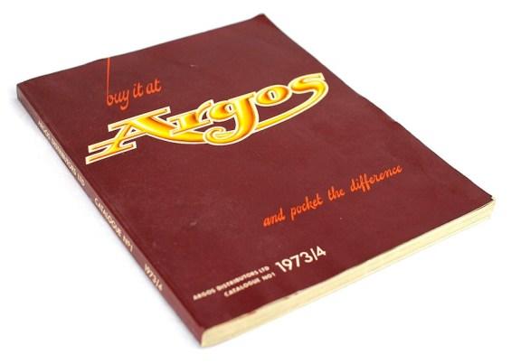 Argos No. 1 - 1973-74