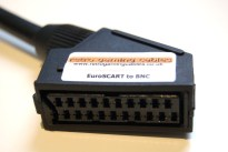 RGB SCART to BNC breakout cable