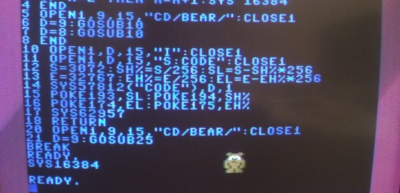 The Bear Essentials: Developing a Commodore 64 game