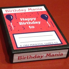 Weird and rare – Birthday Mania – Atari 2600