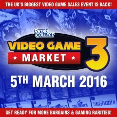 The RetroCollect Video Game Market 3, Doncaster 5th April 2016