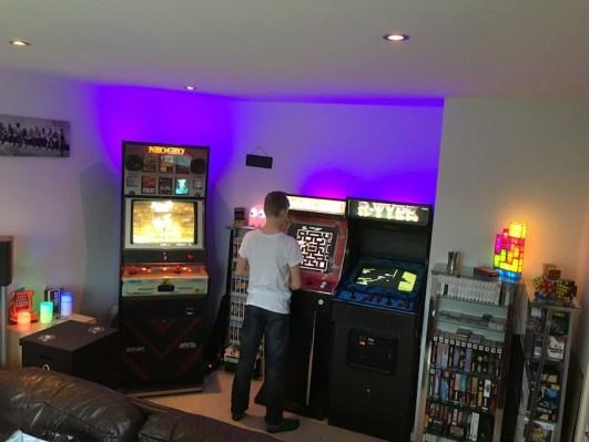 New arcade layout