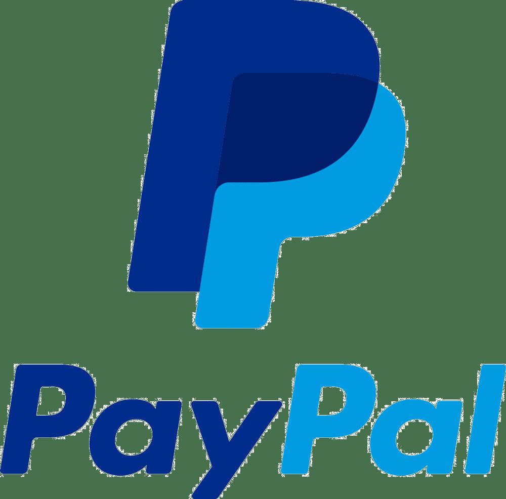 logo paypal vertical