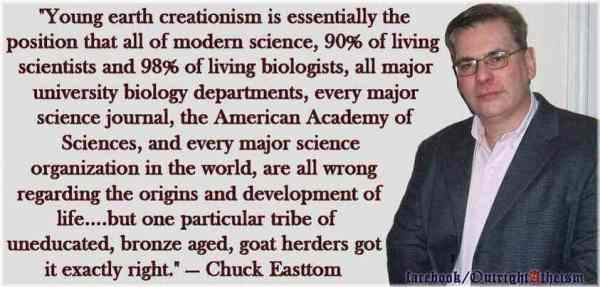 Atheistic Rant Against Young Earth Creationism