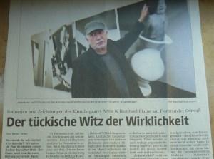 Ausriss der WR-Kulturseite vom 18.11.2006 (Foto zum Zeitungsartikel: Ralf Rottmann)