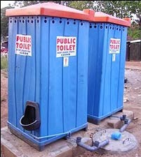 Photo Credit: Africanspotlight.com Picture of a Public toilet