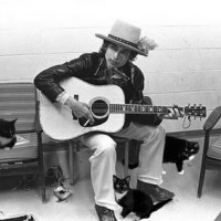 Bob Dylan with Cats