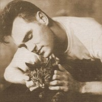 Morrissey with a Cat
