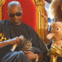 Slick Rick With a Cat
