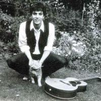 Syd Barret With A Cat