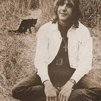 Gram Parsons With A Cat