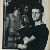 Steve Albini With A Cat