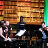 We Went There: Saul Williams and Mivos Quartet (+ dj/rupture) at the James J Hill Library