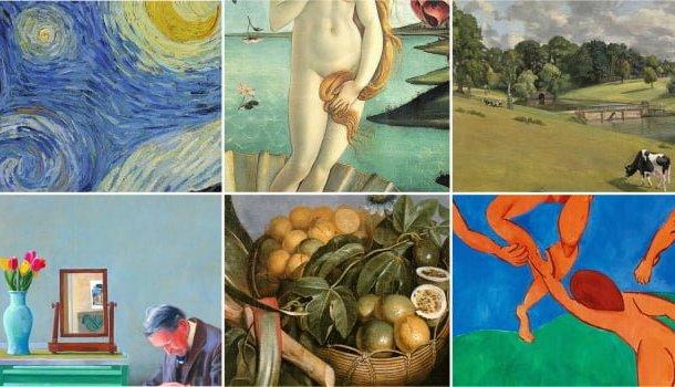 15 pinturas que são diamantes para os olhos