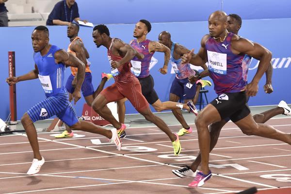 100m Doha (IAAF)