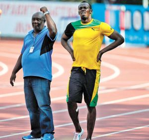 Usain Bolt-Glen Mills(EFE)