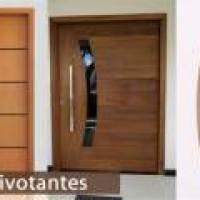 Porta externa de madeira: dicas e modelos variados