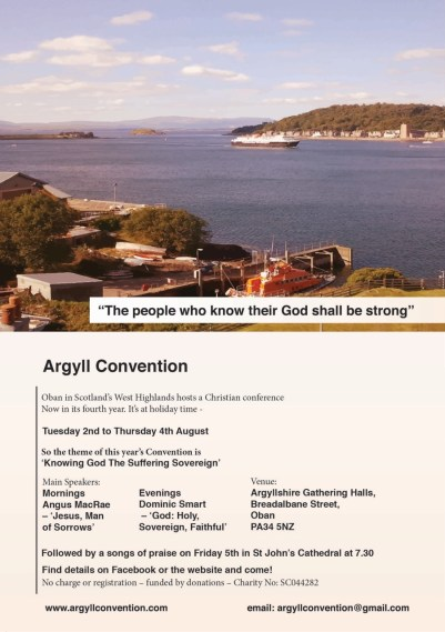 argyll convention ad