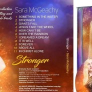 Sara McGeachy's debut CD album launch in Airdrie