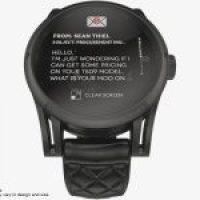 Kairos, la montre connectée à aiguilles et OLED
