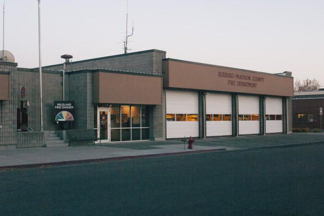 Rexburg Urban Renewal Firestation Before