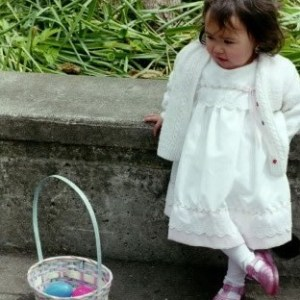 Abby at Easter