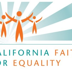 CA Faith for Equality Logo