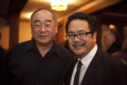 Bill Chow and Bruce Reyes-Chow