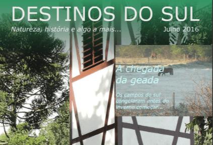 Destinos do sul julho 2016 by João de Carvalho - issuu