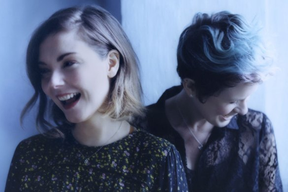 Promo image of Honeyblood band for Babes Never Die